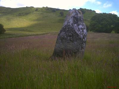 standing stone,talybont