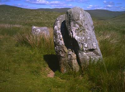 large standing stone